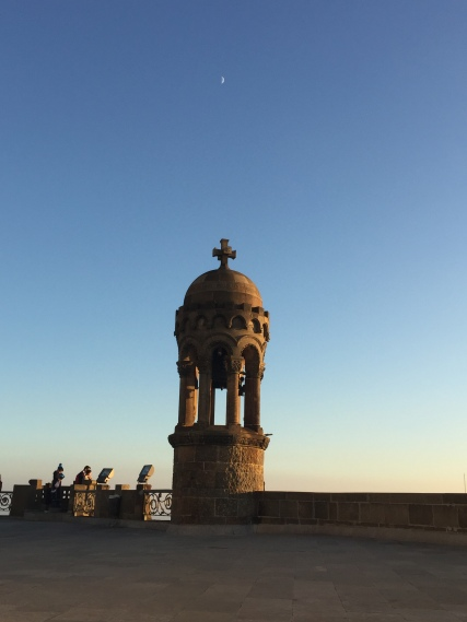 Samrat Cor Church, Loved the moon just above the turret