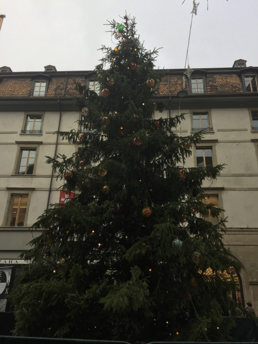 The Genève Christmas tree