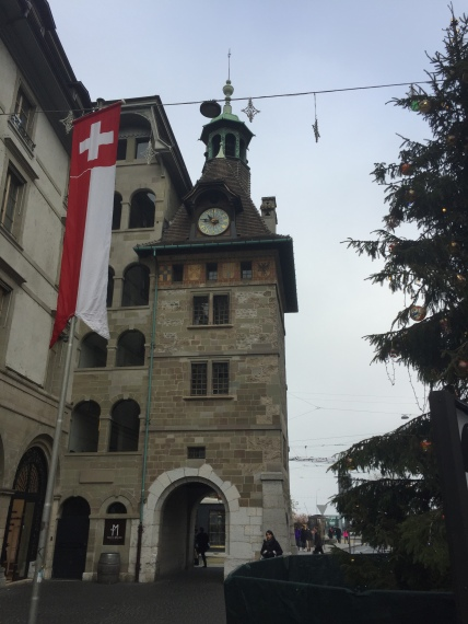 One of the watch towers