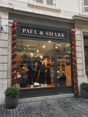 A christmas looking shop