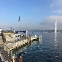 Another shot of the Jet d'eau Fountain