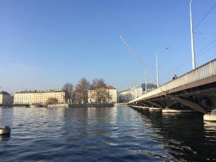 The bridge over the Rhône