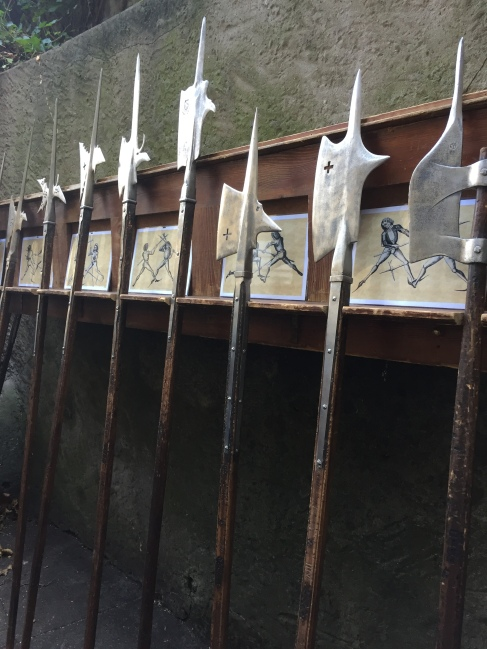 Wall of Pikes