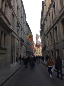 The streets of Old Town