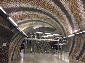 Sweet lines in the metro