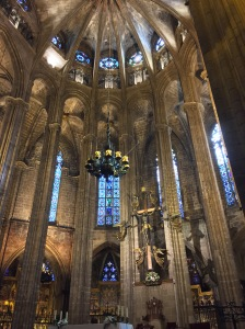 Barcelona Cathedral looking all magnificent!
