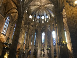 Barcelona cathedral looking resplendent