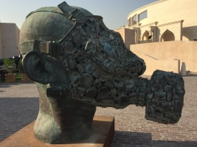 One of the Sculptures