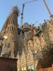 La Sagrada Familia - by night