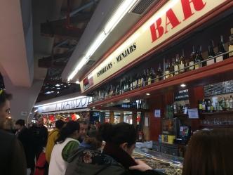 One of the bars in Mercat de Santa Caterina