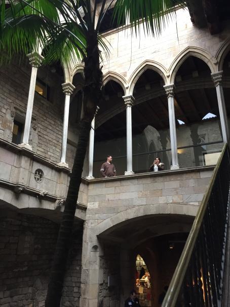 Interior exterior of Museu Picasso