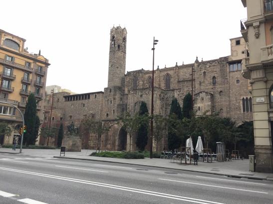 Praça Berenguer el Gran, some sweet Roman remains