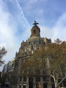 Majestic building in the Passeig de Gràcia