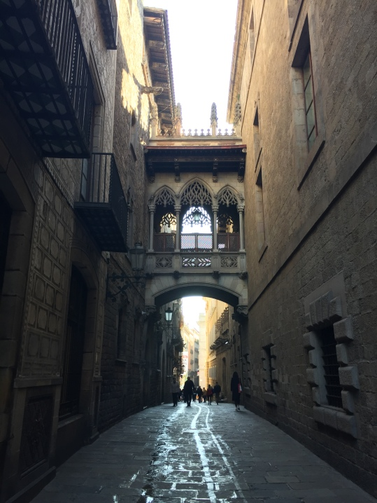 A rather over photographed part of Barcelona, but just had to take my own