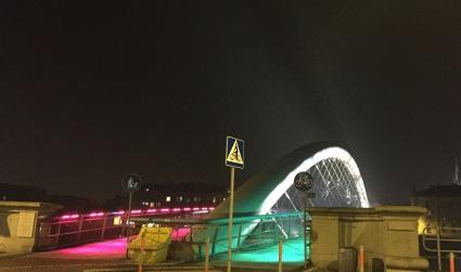 The Foot bridge looking sweet