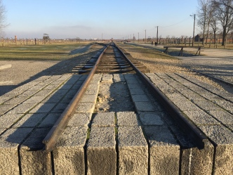 End of the line at Birkenau
