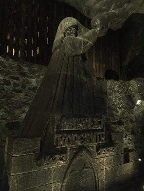 Copernicus made of Salt in the Salt Mine