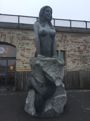The busty mermaid