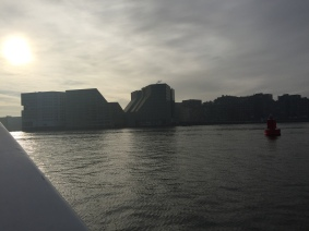 Heading across the main river to other side