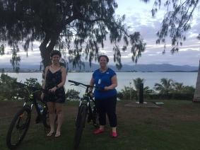 Cycling around Noumea